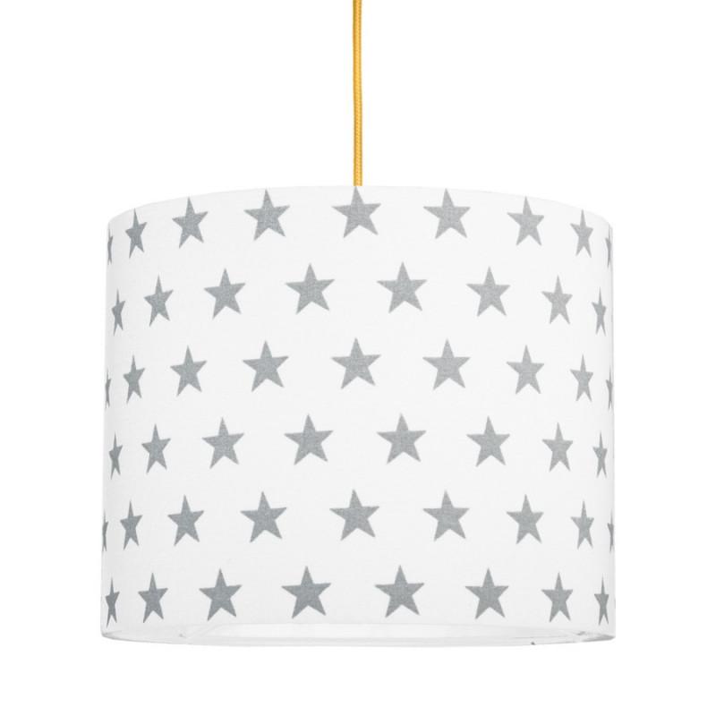 Grey Stars MINI Lampshade Ø25cm