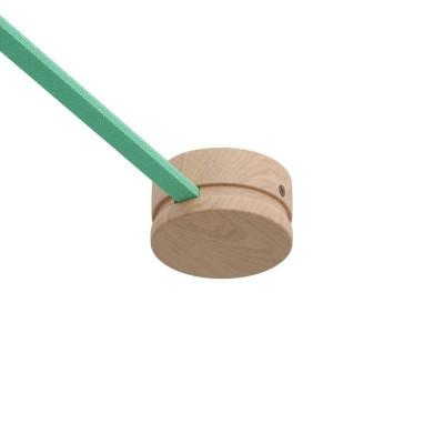 Filé system drewniana maskownica sufitowa do płaskiego przewodu Creative-Cables