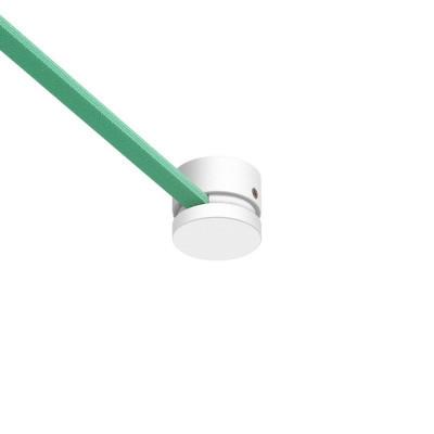 Filé system biała drewniana maskownica sufitowa do płaskiego przewodu Creative-Cables