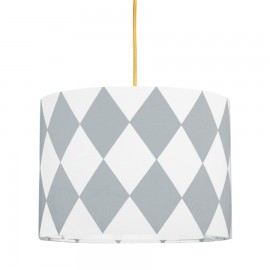 Grey diamonds MINI Lampshade Ø25cm