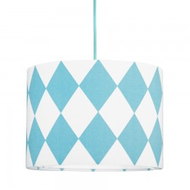 Turquoise diamonds MINI Lampshade Ø25cm