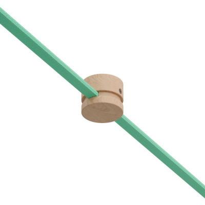 Filé system drewniany uchwyt do płaskiego przewodu Creative-Cables