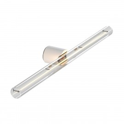 Biała lampa ścienna lub sufitowa Esse14 na żarówkę liniową LED S14d - Wodoodporność IP44 Creative-Cables