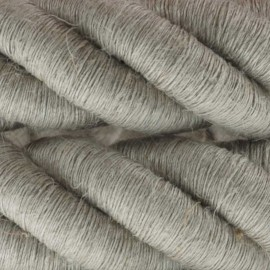 3XL electrical cord, electrical cable 3x0,75. natural linen fabric covering. Diameter 24mm Creative Cables