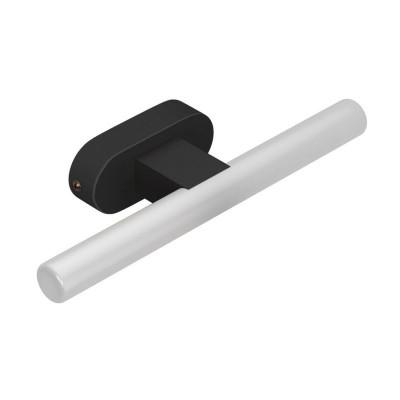 Fermaluce S14 System nowoczesna oprawa natynkowa S14d z czarną owalną drewnianą rozetą sufitową Creative-Cables