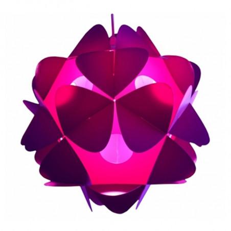 Purple lampshade ORBITAL V Kafti DESIGN