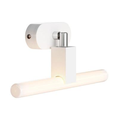 Fermaluce S14 System biała regulowana natynkowa lampa z gniazdem S14d i owalną drewnianą rozetą sufitową Creative-Cables