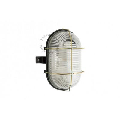 Wall / ceiling waterproof lamp, glass shade light.o.003.002 E27 Zangra