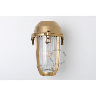Wall lamp / sconce brass light.o.005.001, E27 Zangra