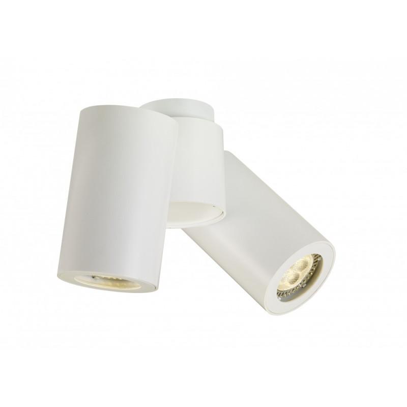 Barlo II Adjustable Ceiling Lamp White Tube