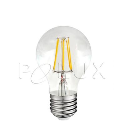 LED bulb A60 7W transparent warm color Polux