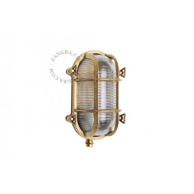 Well glass 'bulkhead' fixture light.o.020.006 Zangra