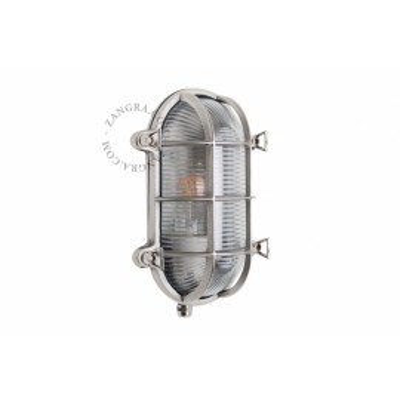 Well glass 'bulkhead' fixture light.o.020.001 Zangra