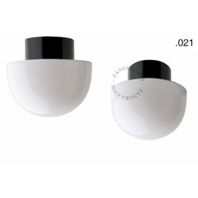 Porcelain lamp with a glass shade light.o.016.c.b.glass021 Zangra