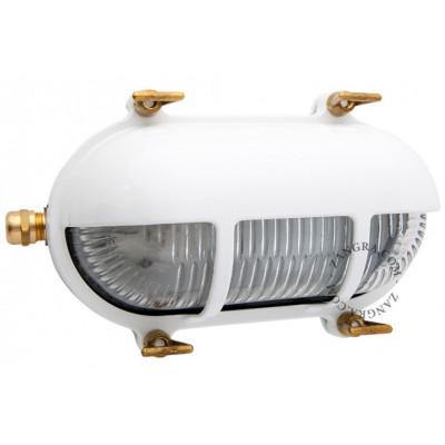 Lampa oprawa grodziowa biała light.o.071.w.001 Zangra