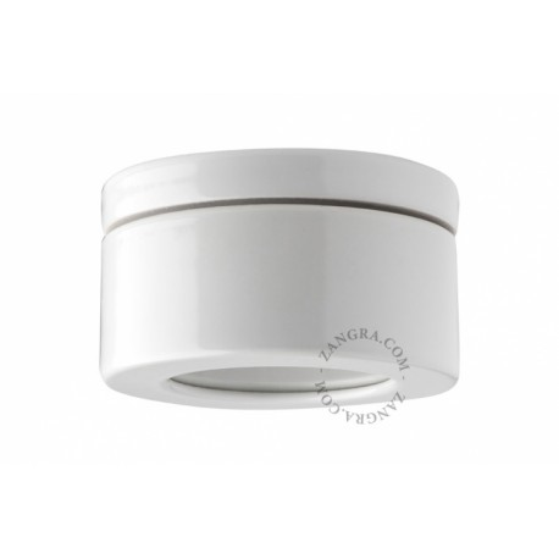 White porcelain luminaire light.o.068.w Zangra