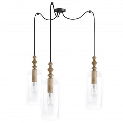Loft Hulub 3 lampa wisząca