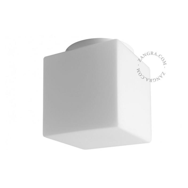 Ceiling lamp with a glass shade, handmade light.o.120.w.001Zangra
