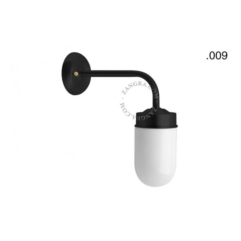 Wall lamp / sconce brass light.o.101.b.glass009 Zangra