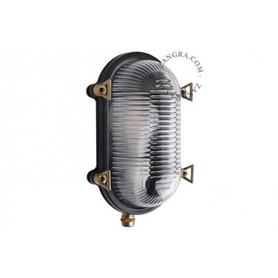 Brass marine lamp - black light.o.125.b.001 Zangra