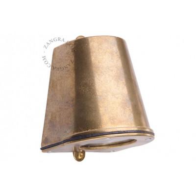 Brass wall lamp light.o.085.001 Zangra