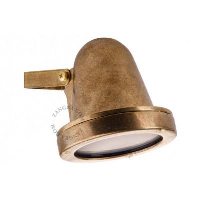 Brass wall lamp light.o.086.001 Zangra