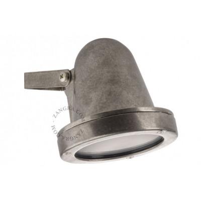 Brass nickel-plated wall lamp light.o.086.002 Zangra