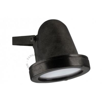 Brass wall lamp black light.o.086.b.001 Zangra