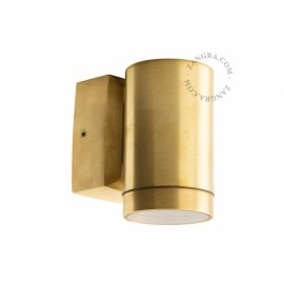 Brass wall lamp light.o.109.go.001 Zangra