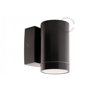 Wall lamp brass black light.o.109.b.001 Zangra