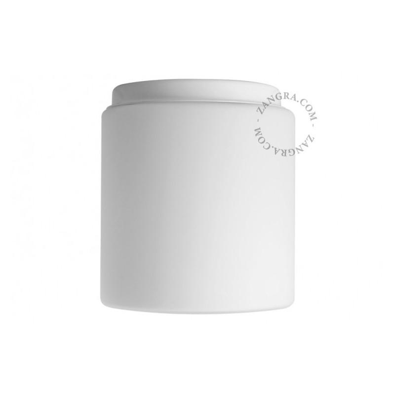 Ceiling lamp with a glass shade, handmade light.o.121.w.002 Zangra