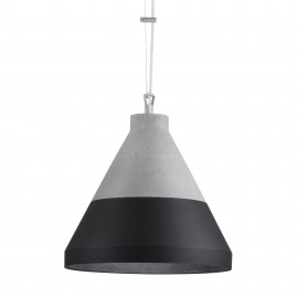 Craft XL Concrete Pendant Lamp Black