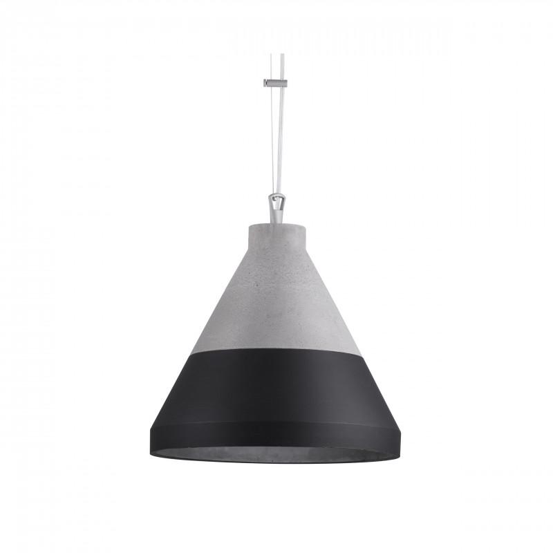 Craft S beton/czarny lampa wisząca