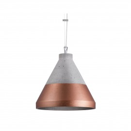 Craft S Concrete Pendant Lamp Copper Base