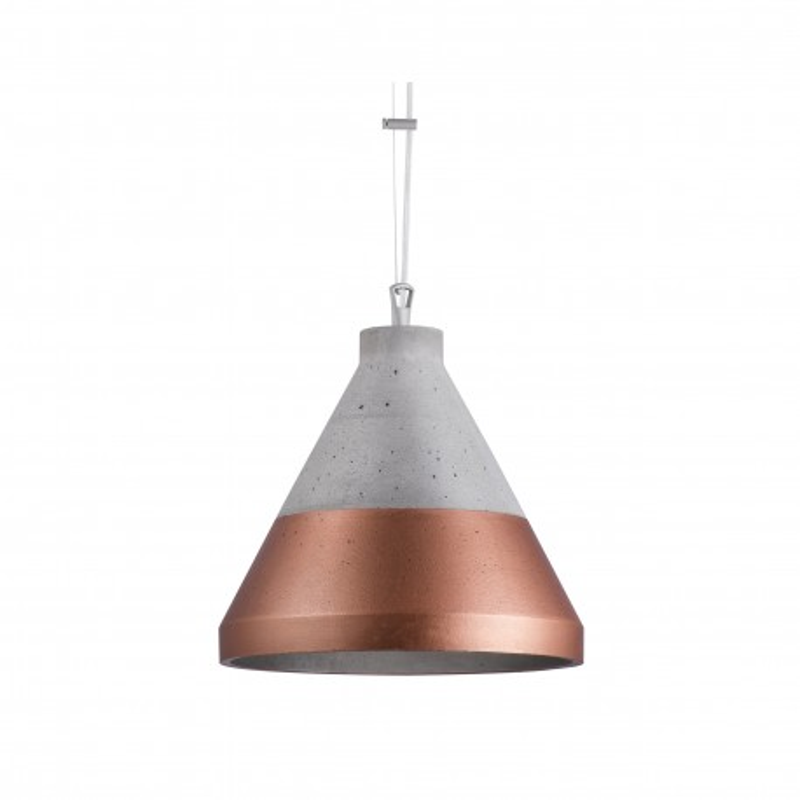 Craft S Concrete Pendant Lamp Copper Base