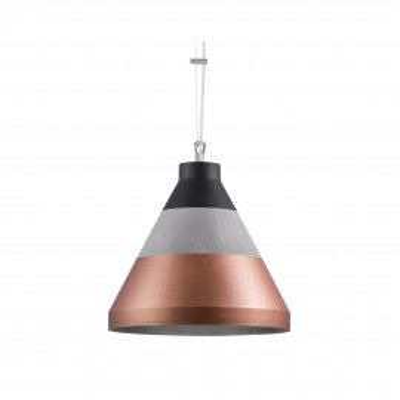 Craft S Concrete Pendant Lamp Copper / Black