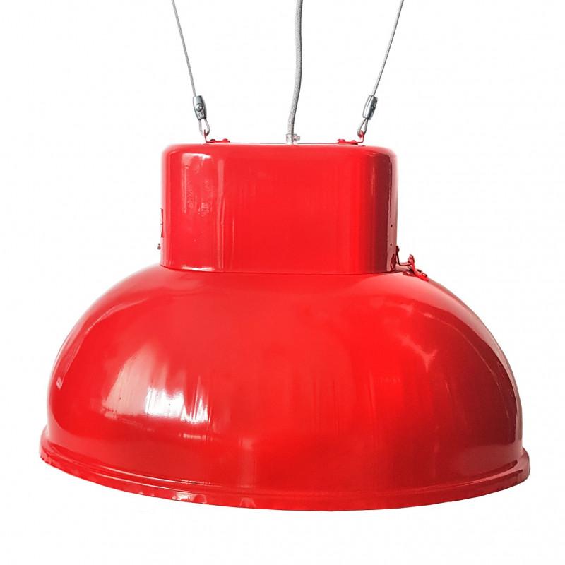 Duża lampa fabryczna ORP 2-1 czerwona