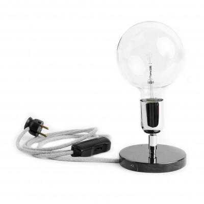 Loft Marble Silver NM lampa stołowa