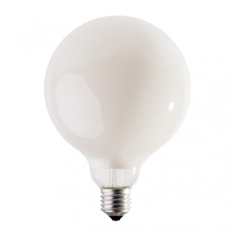 Mleczna halogenowa żarówka dekoracyjna eco 125mm 28W