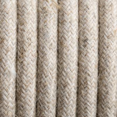 Kabel w oplocie lnianym L01 dwużyłowy 2x0.75