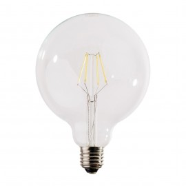 Decorative eco LED light bulb 125mm 6W