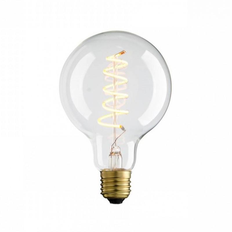 Żarówka dekoracyjna eco Vintage Spiral LED 95mm 4W