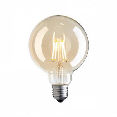 Żarówka dekoracyjna eco Vintage Amber LED 95mm 4W