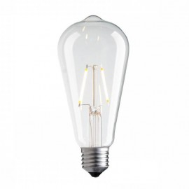 Decorative eco LED light bulb ST64 65mm 2W