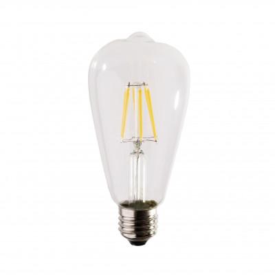 Decorative eco VINTAGE LED light bulb ST64 65mm 6W