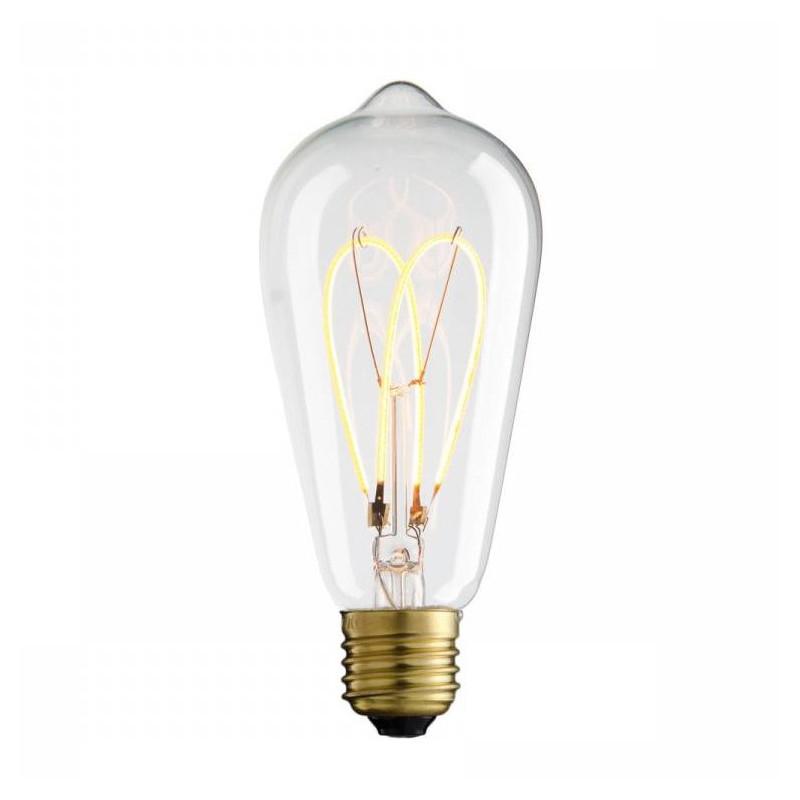 Żarówka dekoracyjna eco VINTAGE LED VARIOUS ST64 65mm 4W