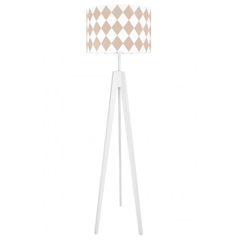 Rose Diamonds Floor Lamp