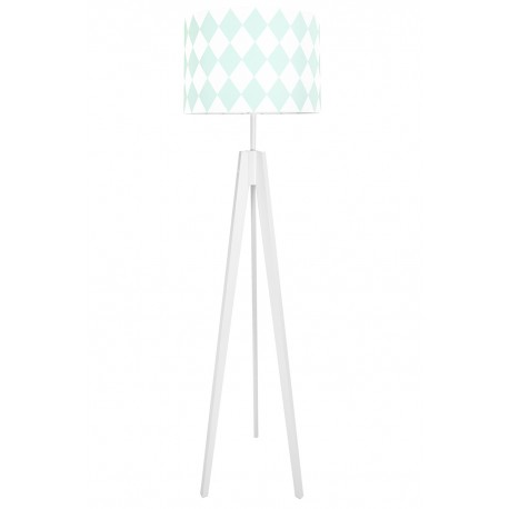 Mint Diamonds Floor Lamp