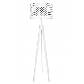 Black Dots Floor Lamp