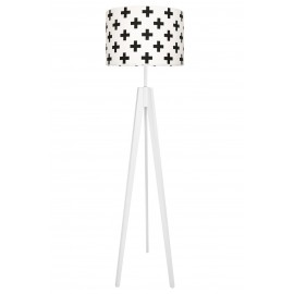 Black Sharps Floor Lamp